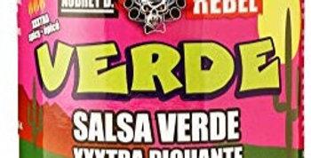 Aubrey D./Rebel:  Salsa Verde XXXTRA HOT(475ml)