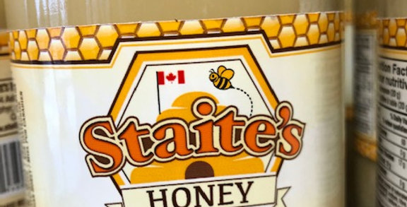 Staites Honey - Raw *Creamed (1kg)