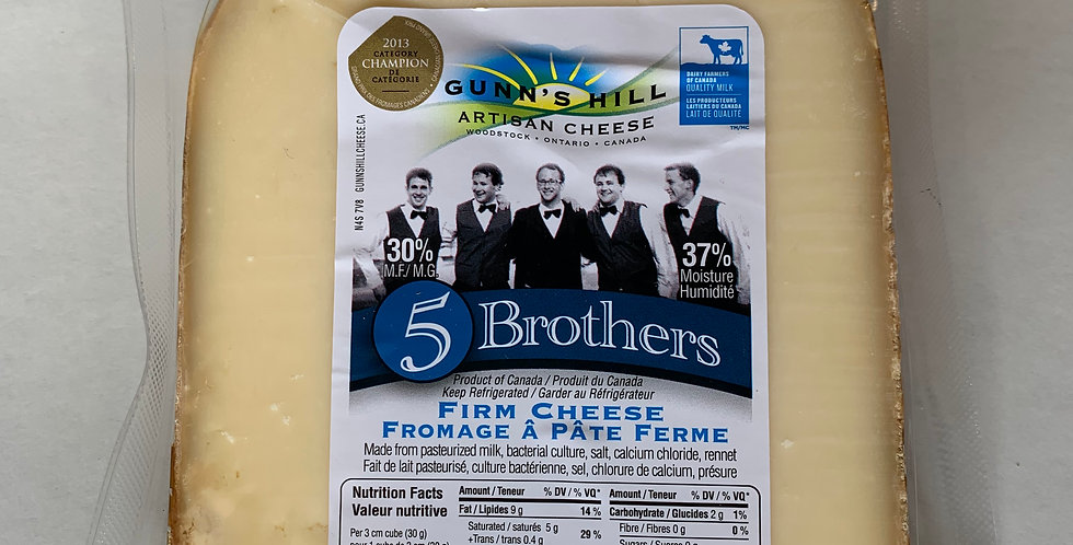 Gunn's Hill Cheese - 5 Brothers
