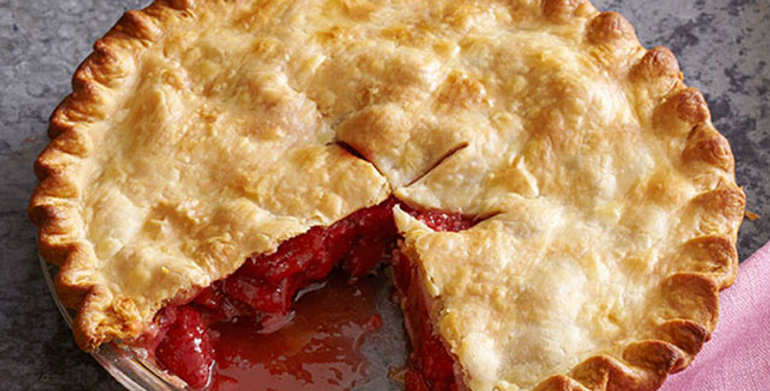 Strawberry Rhubarb Pie (Frozen 10inch)