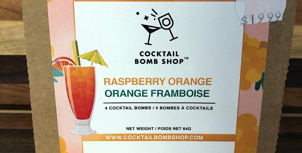 Cocktail Bombs(Raspberry Orange)4 pack