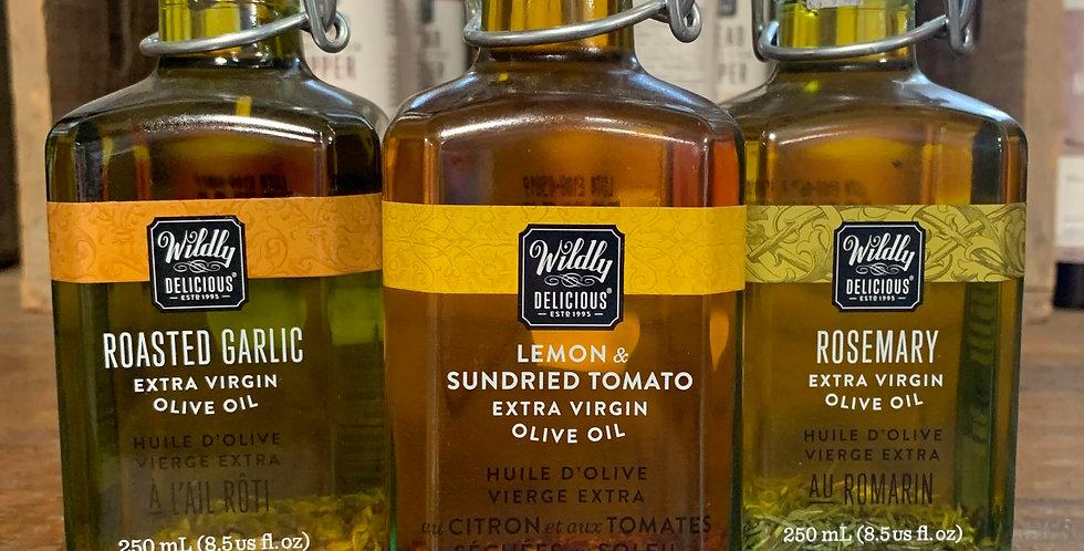 Olive Oil - Lemon & Sundried Tomato (250ml)