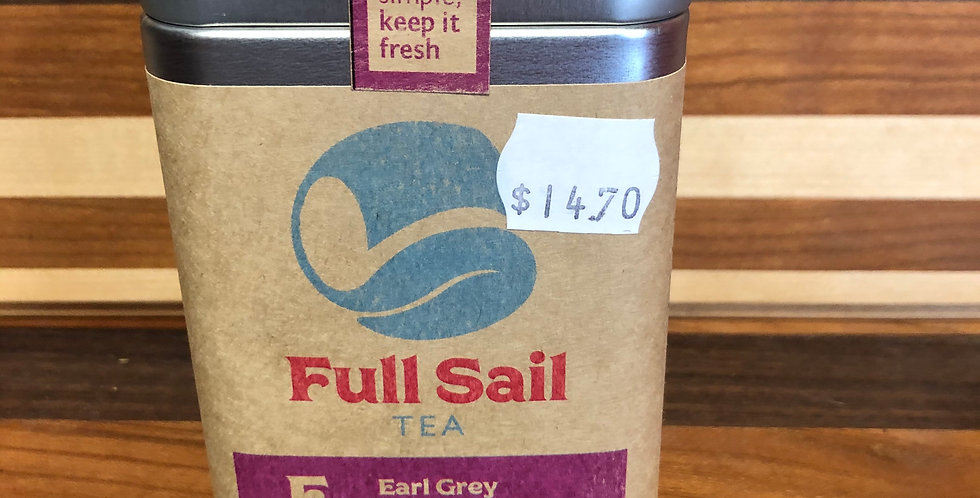 Full Sail Tea: Earl Tea(100g)