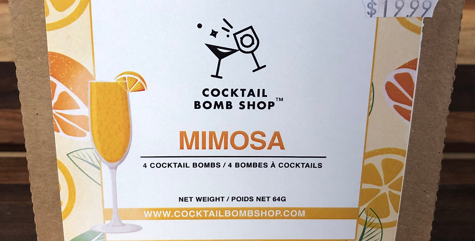 Cocktail Bombs( Mimosa)4 pack