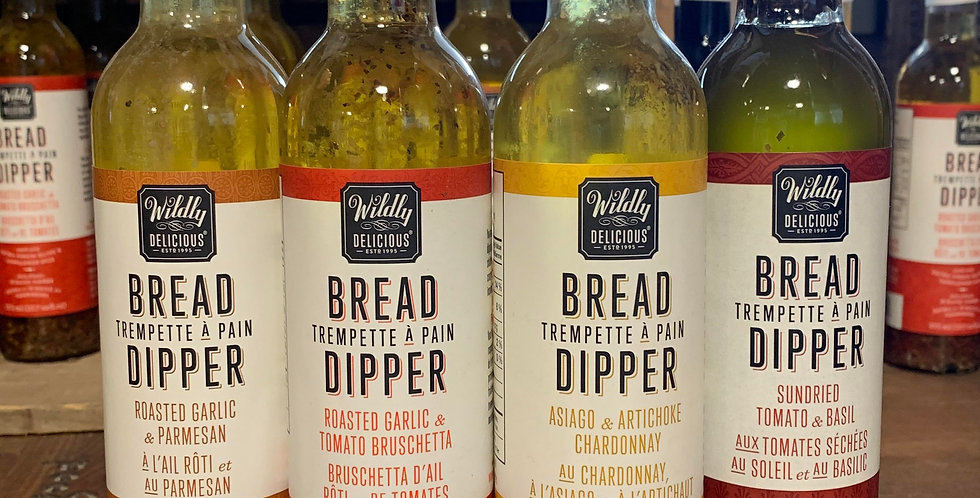 Wildly Delicious: Bread Dipper - Sundried Tomato & Basil (375ml)