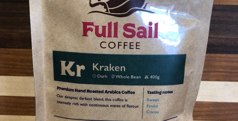 Full Sail Coffee: Kraken(Beans)(400g)