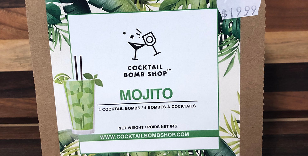 Cocktail Bombs( Mojito)4 pack