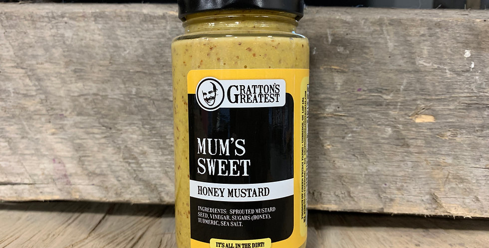 Gratton's Greatest Mum's Sweet Honey Mustard