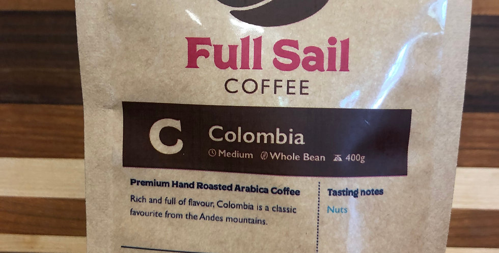 Full Sail Coffee: Columbia Blend(Ground)(400g)