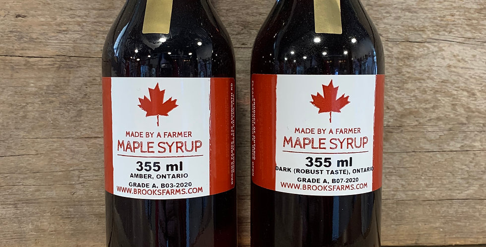 Maple Syrup 355ml (Amber)