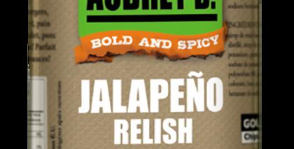 Aubrey D./Rebel:  JALAPEÑO RELISH(375g)