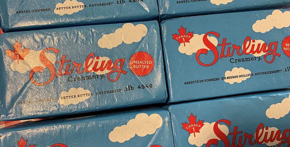 Kawartha Dairy (Stirling) Unsalted Butter