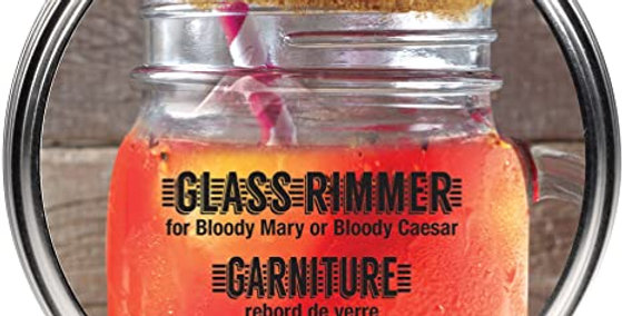 Gourmet Village Glass Rimmer(Bloody Mary/Caesar)