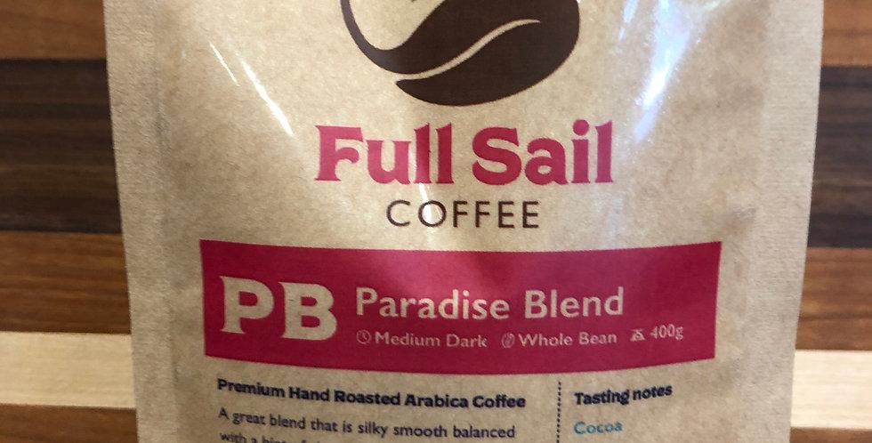 Full Sail Coffee: Paradise Blend(Beans)(400g)