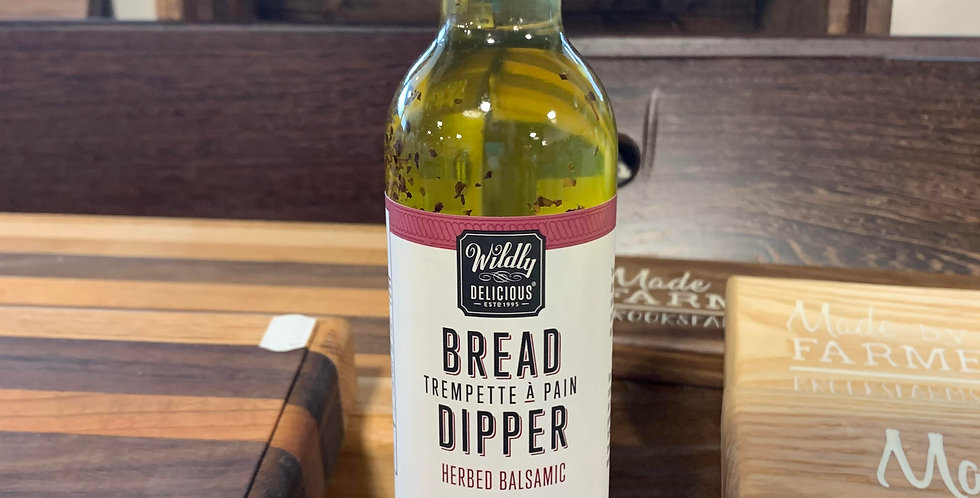 Wildly Delicious: Bread Dipper - Herbed Balsamic (375ml)