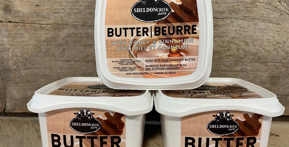 Sheldon Creek Honey & Cinnamon Butter