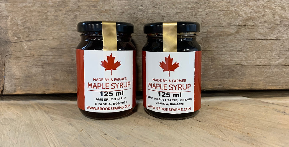 Maple Syrup 125ml