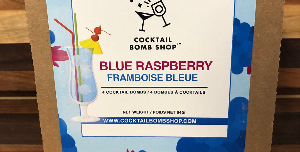 Cocktail Bombs( Blue Raspberry)4 pack