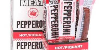 Great Canadian Meat Pepperoni Singles: Hot 22g