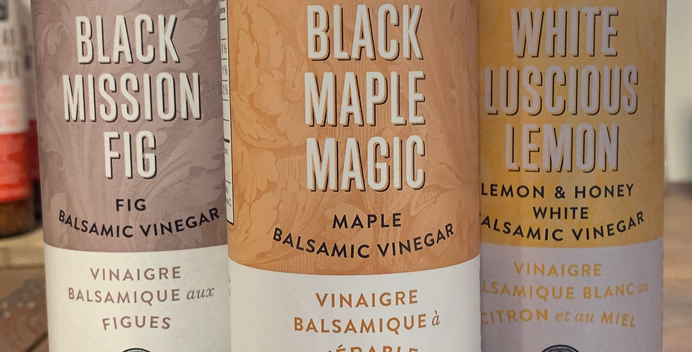 Wildly Delicious: Balsamic Dressing - Black Maple Magic (375ml)