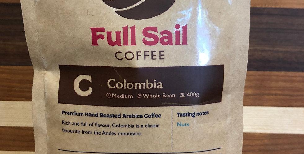 Full Sail Coffee: Columbia Blend(Beans)(400g)
