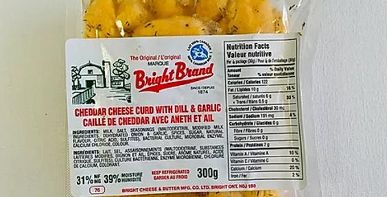 Sheldon Creek Cheese Curds - Garlic & Dill