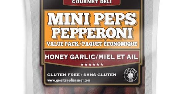 Kurtzie's Mini Peps: Honey Garlic