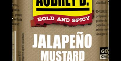 Aubrey D./Rebel:  JALAPEÑO MUSTARD(375g)
