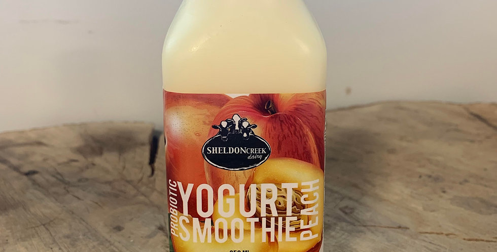 Sheldon Creek Peach Yogurt Smoothie (350ml)
