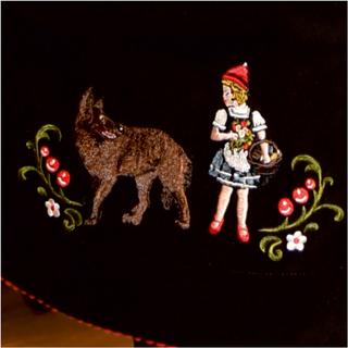 Rotkäppchen-Detail