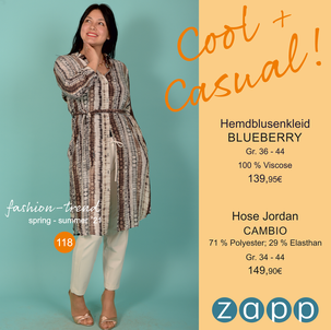 COOL + CASUAL!