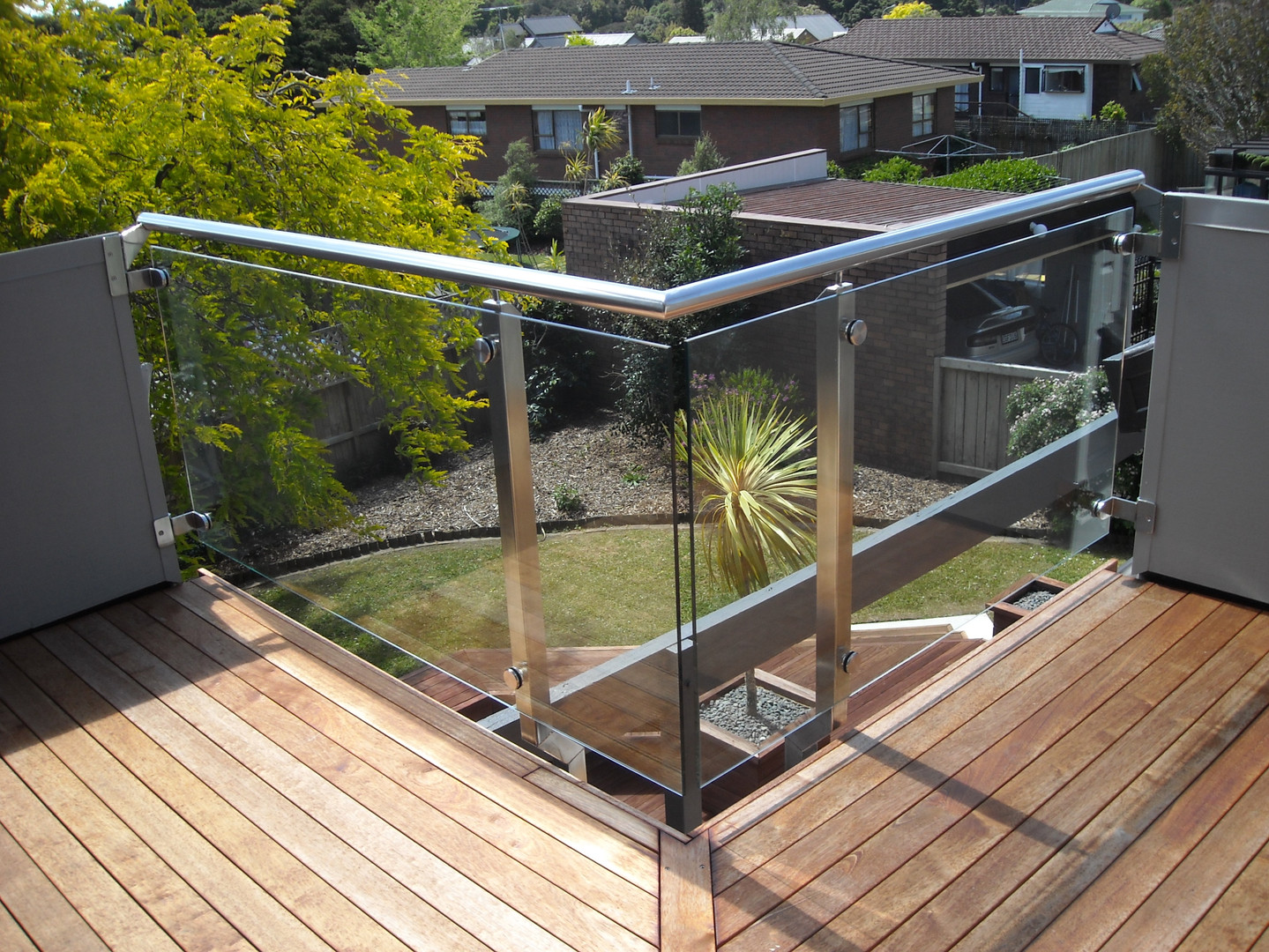 Stainless and Glass Balustrade