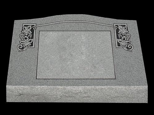 Large Single Slant Memorial