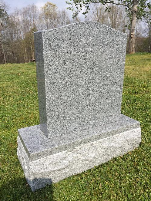 Granite Memorial Die & Base P5  (6 options)