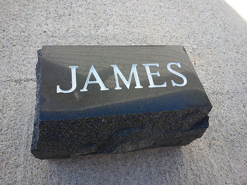 Granite Foot-stone (personalized) 5 Colors