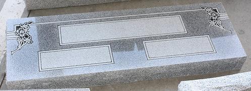 "Large Companion Flat Memorial 42x14x4"""