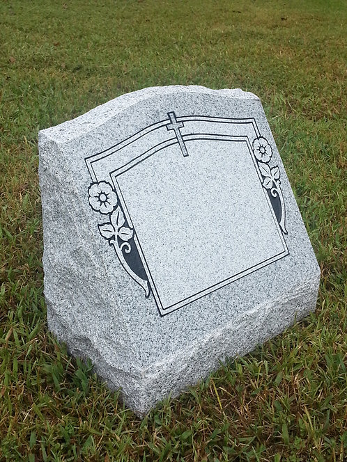 "Granite Slant Memorial 16""x8""x14"" (4 options)"