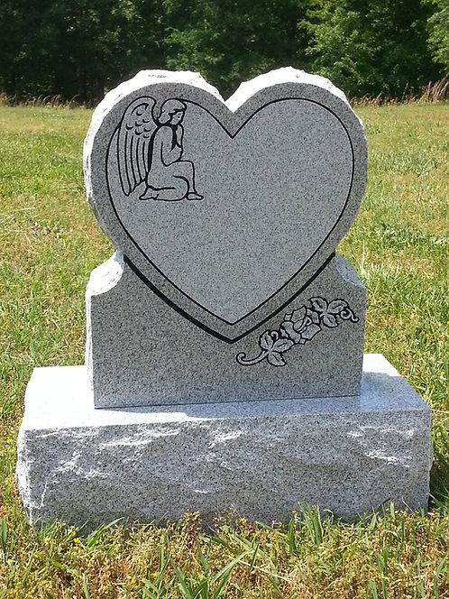 Heart Memorial Die & Base (2 options)