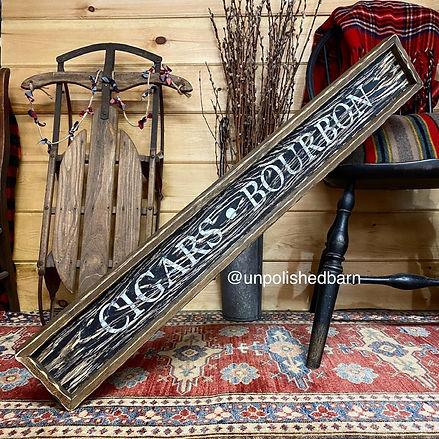 cigar room sign, cigar bar sign