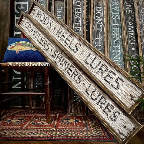 rustic wood cabin signs, lodge signs