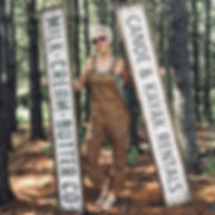rustic cabin signs, canoe sign