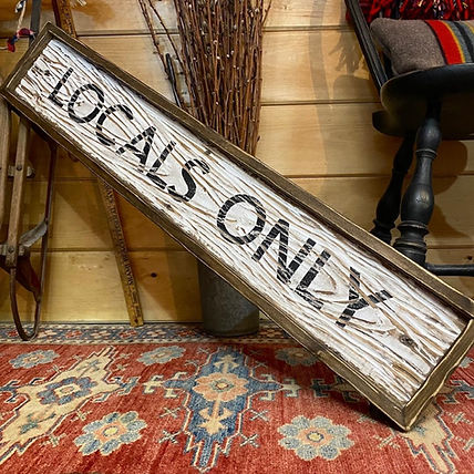 locals only sign