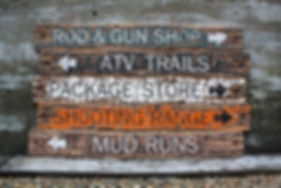wood mancave signs, rustic lodge signs