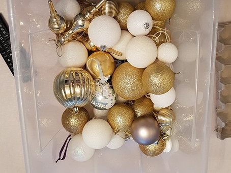 Comment ranger vos décorations de Noël