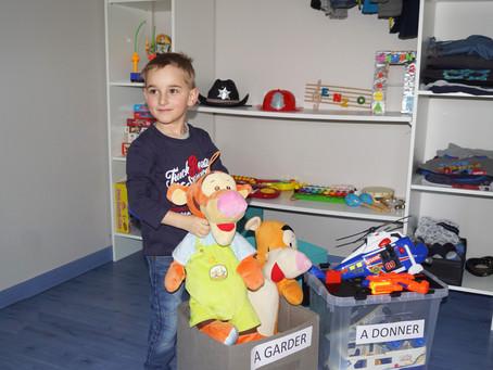 Aidez vos enfants à garder leur chambre rangée
