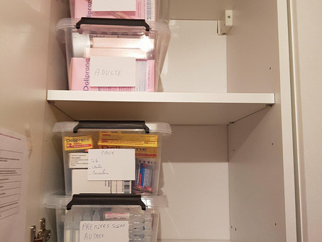 Comment ranger votre armoire à pharmacie