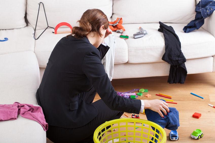 ranger désencombrer maison stress charge mentale