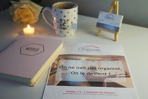 L. Organise Home organiser visite conseil Ardennes