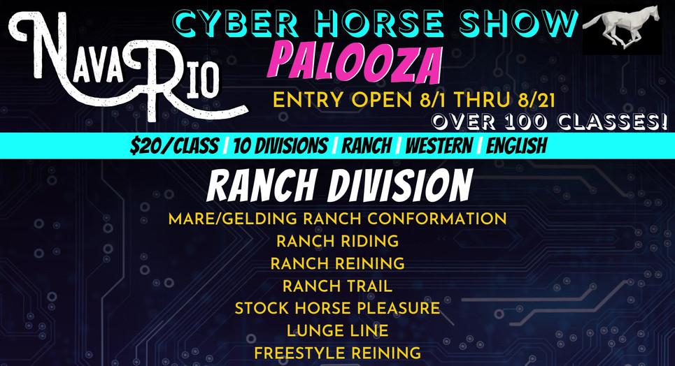 NavaRio Ranch Cyber Horse Palooza - Ranch Division