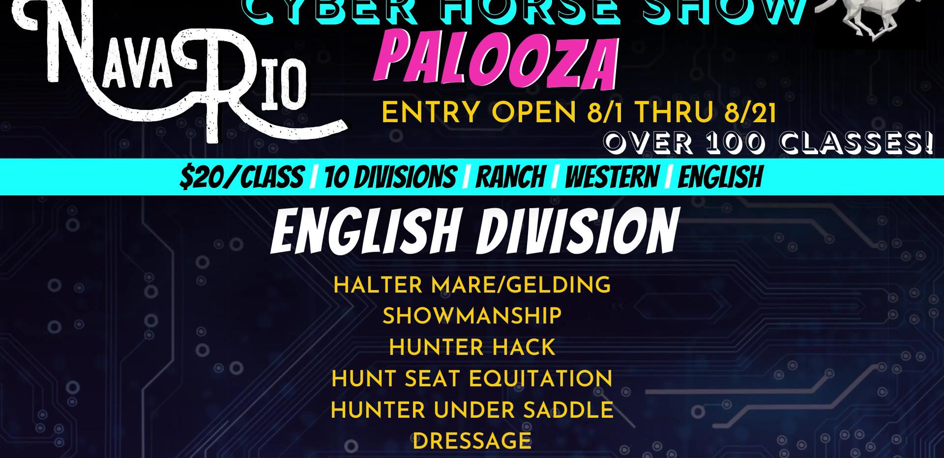 NavaRio Ranch Cyber Horse Palooza - English Division